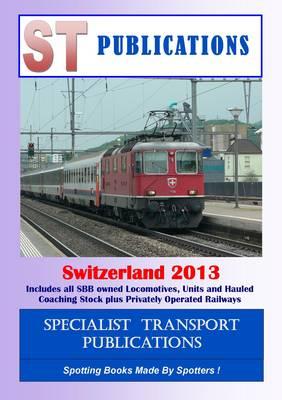 European Rail Datafile Switzerland 2012 (Spiral bound)