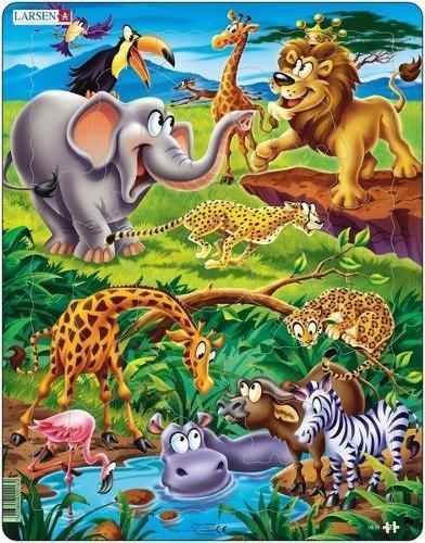 Jigso ar Saffari/Jigsaw on Safari