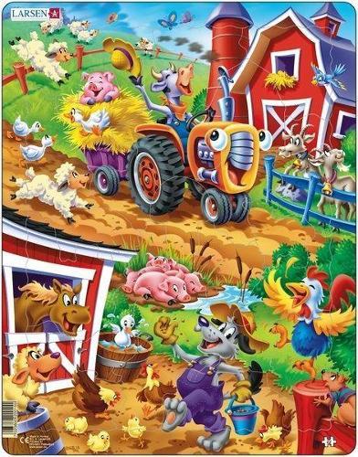 Jigso ar y Buarth/Jigsaw Farmyard