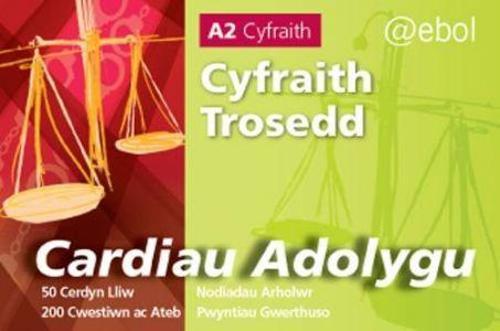 Cardiau Adolygu'r Gyfraith - Cyfraith Trosedd (Paperback)