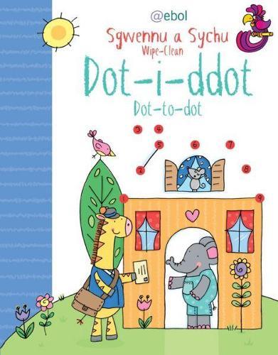 Dot i Ddot: Sgwennu a Sychu (Paperback)