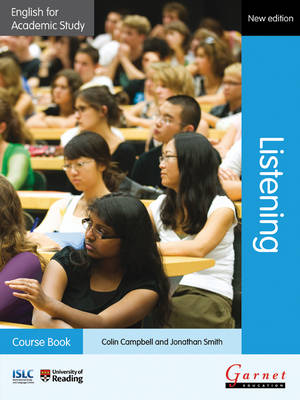 English for Academic Study: Listening Course Book with AudioCDs - Edition 2 (Board book)
