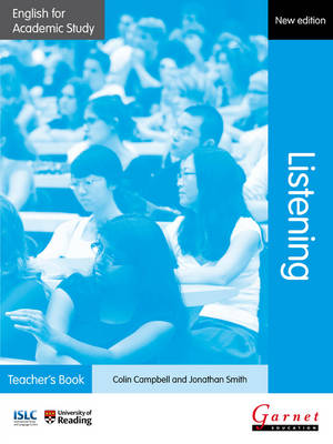 English for Academic Study: Listening Teacher's Book - Edition 2 (Board book)