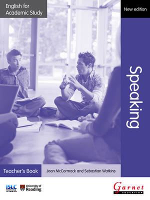English for Academic Study: Speaking Teacher's Book - Edition 2 (Board book)
