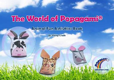 The World of Popagami: Animal Fun Activities Book (Paperback)