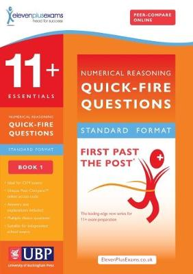 11+ Essentials Short Numerical Reasoning for CEM: Book 1 - First Past the Post (Paperback)