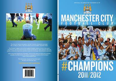 Manchester City FC Champions 2011/2012 (Paperback)