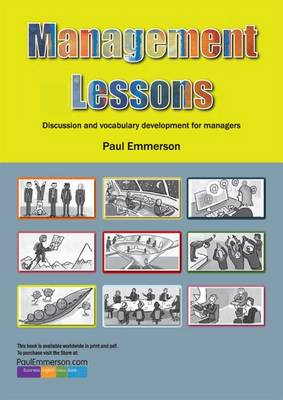 Management Lessons: Teacher's Resource Book: Discussion and Vocabulary Development for Managers (Spiral bound)