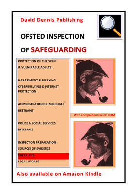 OFSTED Inspection of Safeguarding (Spiral bound)