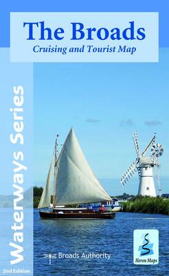 The Broads: Cruising and Tourist Map - Waterways Series (Sheet map, folded)