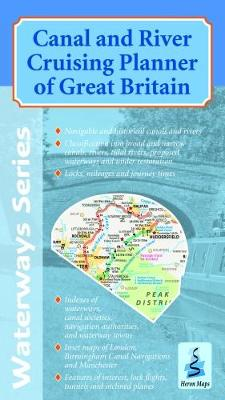 Canal and River Cruising Planner of Great Britain 2018 - Waterways Series (Sheet map, folded)