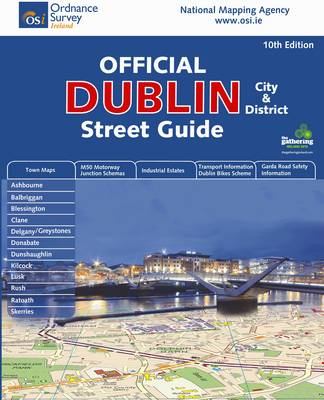Dublin City and District Street Guide - Irish Maps, Atlases and Guides (Spiral bound)