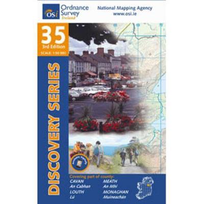 Cavan: Meath, Lough & Monaghan - Discovery Series 35 (Sheet map, folded)