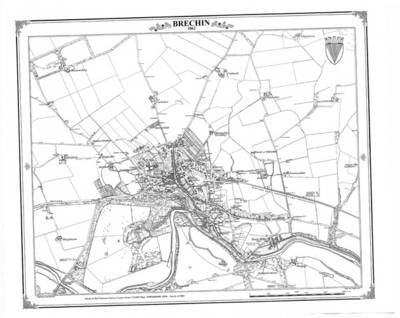 Brechin 1862 Heritage Cartography Victorian Town Map - Heritage Cartography Victorian Town Map Series 207 (Sheet map, folded)