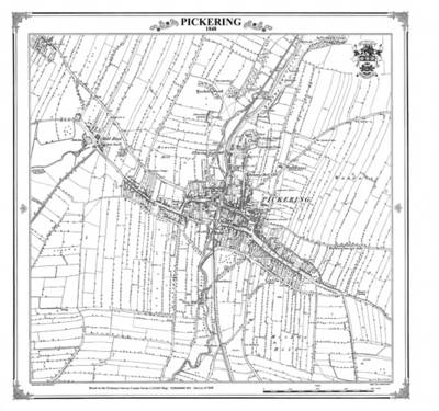 Pickering 1848 Heritage Cartography Victorian Town Map - Heritage Cartography Victorian Town Map Series 210 (Sheet map, folded)