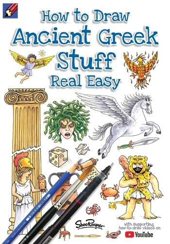 How To Draw Ancient Greek Stuff Real Easy: Easy step by step drawing guide - Draw Stuff Real Easy 1 (Paperback)