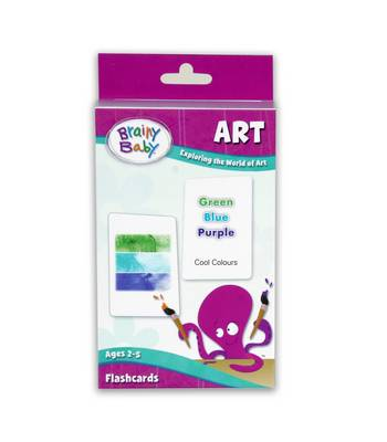 Brainy Baby - Art (Flash Cards): Exploring the World of Art