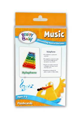 Brainy Baby - Music (Flashcards): Discovering Musical Horizons