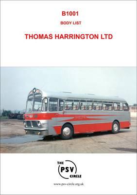 Body List - Thomas Harrington Ltd.: B1001 (Paperback)