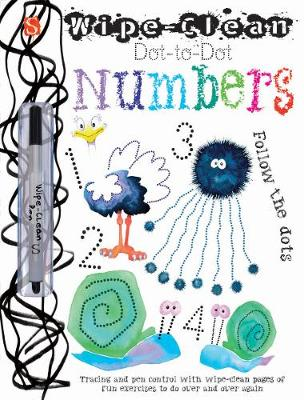 Dot-To-Dot Numbers: Follow the dots - Wipe-Clean (Paperback)