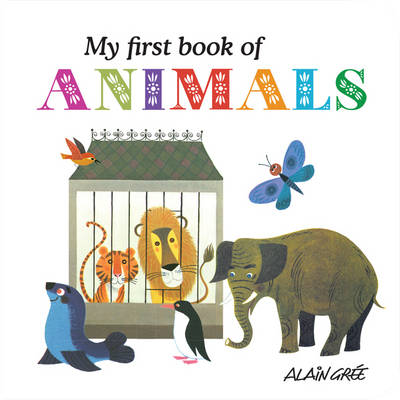 My First Book of Animals (Board book)