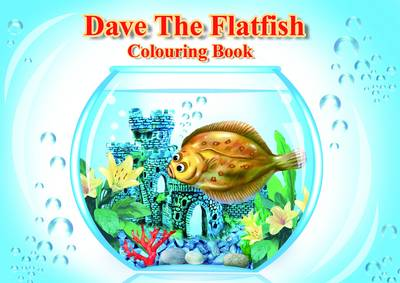 Dave the Flat Fish - Colouring Book (Paperback)