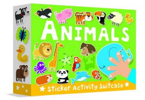 Animals - Sticker Activity Suitcase 2 (Hardback)
