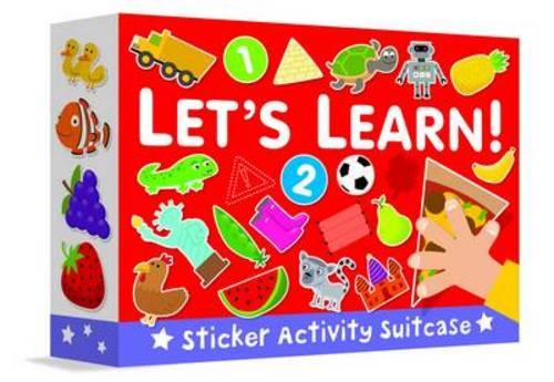 Let's Learn! - Sticker Activity Suitcase 3 (Hardback)