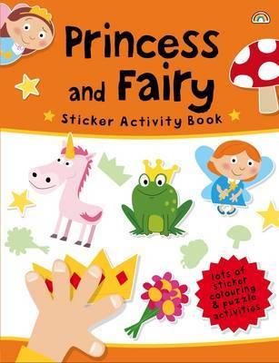 Princess and Fairy - Sticker Activity Book 3 (Hardback)
