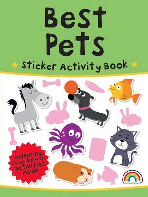 Best Pets - Sticker Activity Book 12 (Paperback)