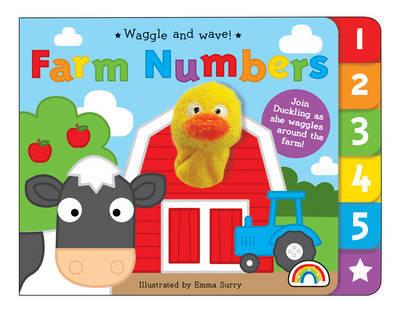 Waggle and Wave - Farm Numbers - Waggle and Wave (Hardback)