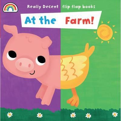 Flip Flap - At the Farm - Flip Flaps (Board book)