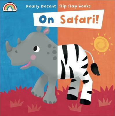 Flip Flap - On Safari - Flip Flaps (Board book)