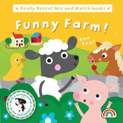 Mix and Match - Funny Farm - Mix and Match (Board book)
