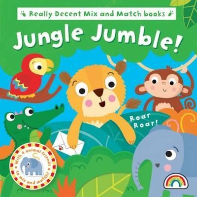 Mix and Match - Jungle Jumble - Mix and Match (Board book)