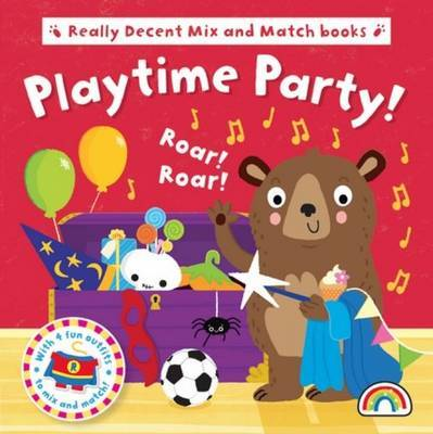 Mix and Match - Playtime Party - Mix and Match (Board book)