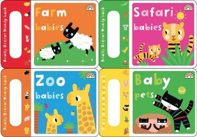 Handy Books - Early Learning Fun 4 Pack - Handy Books 1 (Board book)