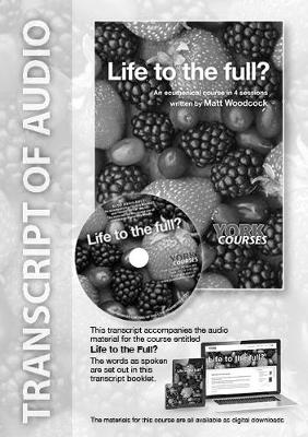 Life to the full? Transcript (Paperback)