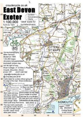 East Devon Exeter 1:100,000 (85) (Sheet map, folded)