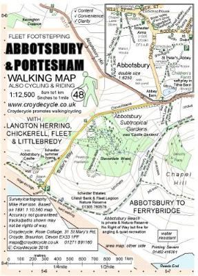 Abbotsbury & Portesham Walking Map: Abbotsbury to Ferrybridge (Sheet map, folded)