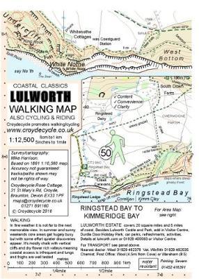 Lulworth Walking Map (50): Ringstead Bay to Kimmeridge Bay (Sheet map, folded)
