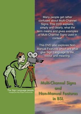 Multi-channel Signs and Non-manual Features in BSL (DVD)