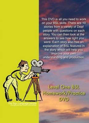 BSL Homework/practice: Level One (DVD)