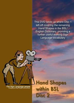 Hand Shapes within BSL (DVD)