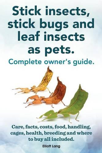 Stick Insects, Stick Bugs and Leaf Insects as Pets (Paperback)