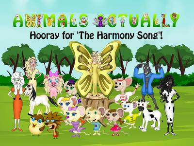 Hooray for 'The Harmony Song'!: BOOK H - ANIMALS ACTUALLY A-Z H (Paperback)