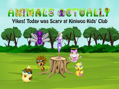 Yikes! Today Was Scary at Kiniwoo Kids' Club: BOOK Y - ANIMALS ACTUALLY A-Z (Paperback)