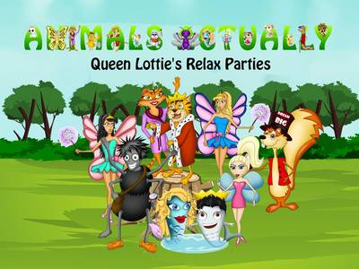 Queen Lottie's Relax Parties: BOOK Q - ANIMALS ACTUALLY A-Z (Paperback)