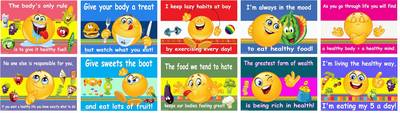 Healthy Eating Posters (Poster)