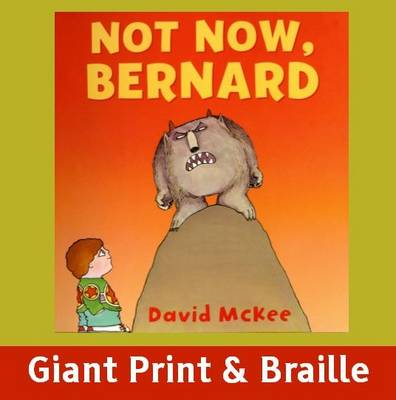 Not Now Bernard (Paperback)